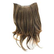 """""""קליפ 20 ברחבות שיער חום מתולתל"""
