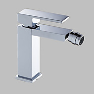 kromfinish massivt messing bidet armatur