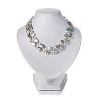 Collana Per donna Anniversario/Compleanno/Regalo/Festa/Occasioni speciali/Casual Cristalli/Perle Perle