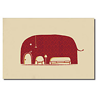 Taulupohjat taide Animal Elephanticus Roomious by Budi Satria Kwan