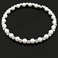 Women's Alloy Necklace Party/Daily/Special Occasion/Causal Imitation Pearl/Rhinestone