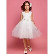RUSHMOOR - kjole til blomsterpige i satin