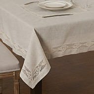 As per picture Linen Square Table Cloths