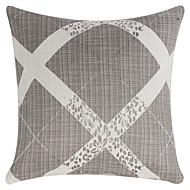 Polyester Pillow Cover , Geometric Traditional