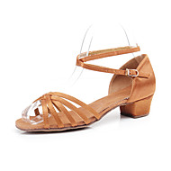 Fashion Children & Women's Satin Upper Dance Shoes