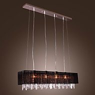 Max 60W Pendant Light ,  Modern/Contemporary / Island Others Feature for Crystal Metal Dining Room