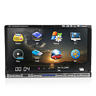 7-inch 2 Din TFT Screen In-Dash Car DVD Player With Bluetooth,Navigation-Ready GPS,iPod-Input,RDS,TV