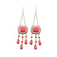 Chandelier Earrings Women's Alloy Earring Rhinestone