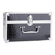 New Pro makeup artist Kosmetiske Train taske Box Set Code Lock Aluminium