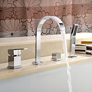 OKANOGAN - ברז לאמבטיה שתי ידיות LED