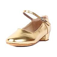 Moda Infantis couro superior latino sapatos de dança (mais cores)