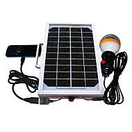 Système solaire 5W Mobile Phone Charger éclairage (Cis-53326-5W)