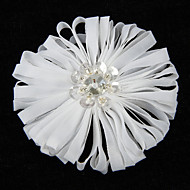 Attractive Organza With Rhinestone Women's Corsage Brooch