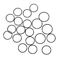 Vodotěsný O-kroužek (30mm 20-Pack)