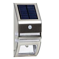 Solar White Wall Light With PIR Motion Sensor