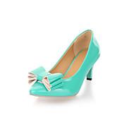 Patent Leather Kitten Hak met bowknot hakken casual schoenen (meer kleuren)