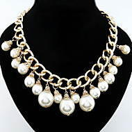 Women's Alloy Necklace Birthday/Gift/Party/Daily/Special Occasion/Causal Imitation Pearl