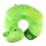 Qute Big Frog U Shape Travel Pillow