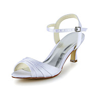 Satin Wedding Stiletto Heel Pumps Sandals (More Colors)