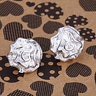 silver earring fashion jewelry Hoop Earrings3