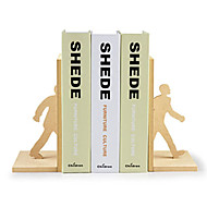 "8""Creative Modern Style 1 Pair Bookends"