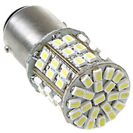 1157/BAY15D 2057 64 1206 SMD LED Car Tail Bremse Stop Turn Light Bulb Lampe Hvit