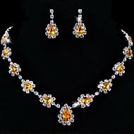 Women's Alloy Jewelry Set Rhinestone