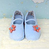 Country Style Blue Sunflower Women's Moccasin Slipper