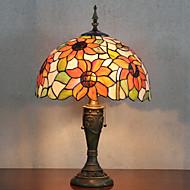 Bordslampa, 2 ljus, Tiffany Resin glasmålning
