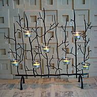 """24 """"מתכת סגנון עץ פמוט מחזיקים שבעה"""