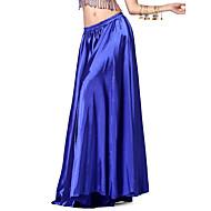 Belly Dance Skirts Women's Training Satin 1 Piece Natural Skirt