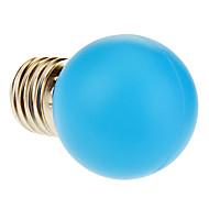 E26/E27 1W 12 40 LM Blue LED Globe Bulbs AC 220-240 V