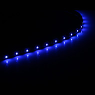 0.3M 15x1210SMD Cool White\Blue Light LED Waterproof Flexible String Light (DC 12V)