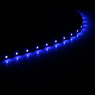 0.3M 15x1210SMD Cool White \ Blue Light LED Vodotěsný String světlo (DC 12V)