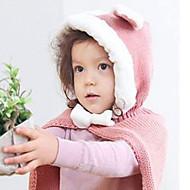 Dívčí Kawaii teplo klobouk a šátek