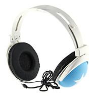 Estéreo de moda en la oreja los auriculares para el S3, S4, iPhone, iPod (azul)