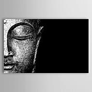 Sträckt Canvastryck konst Stilleben Huvud av Buddha från WhoArtNow