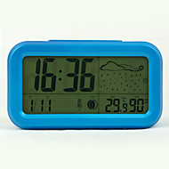 "5.5 ""LED Lazybone Alarm Weerklok"