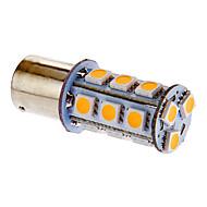 BA15S/1156 3.5W 18x5050SMD 162LM 3000-3500K теплый белый свет Светодиодные лампы для автомобилей (DC 12V)