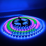 5M 30W 60x5050SMD RGB Light LED Strip Light (DC12V)