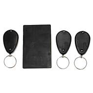 Anti-Lost Alarm RF Kredittkort Størrelse Wireless Super Electronic Key Finder med 3 x receivere
