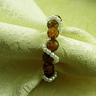 Brown / Purple / Red / Amber Acrylic Napkin Ring