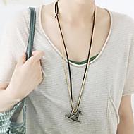 Retro fashion small horse necklace N108