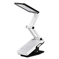 22-lumière LED blanche LED rechargeable solaire Plier les yeux lecture Tableau de lampe de bureau (110-220V)