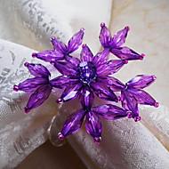 Green / Purple / Red / Amber Acrylic Napkin Ring