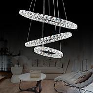LED Krystal Ophæng, Moderne Stil og Metalbelagt