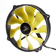 AK-FN073 14cm Anti-Vibrations Rbber blæsermonteringer Fan til PC