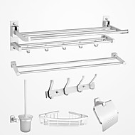 Bathroom Accessory Set,Contemporary Chrome Wall Mounted