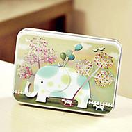 pravokutnik slon obrazac tin box