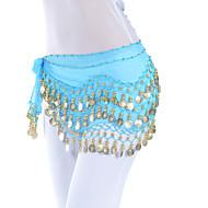Dancewear Chiffon Belly Dance Belt For Ladies(More Colors)